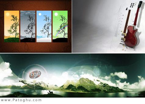 دانلود مجموعه 300 عکس با کیفیت بالا برای دسکتاپ SuperPack Abstraction HD Wallpapers