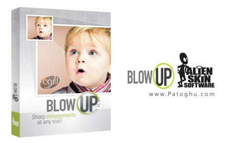 بزرگنمایی تصاویر بدون افت کیفیت توسط پلاگین قوی فتوشاپ با نام - Alien Skin Blow Up v3.0.0.604