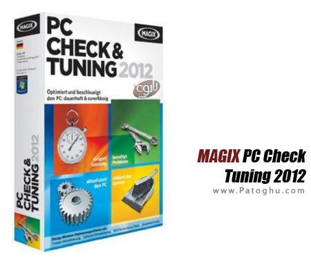بهترین و قدرتمندترین نرم افزار بهینه سازی سیستم MAGIX PC Check & Tuning 2012