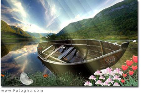 اسکرین سیور زیبا و بسیار جذاب Swan Paradise