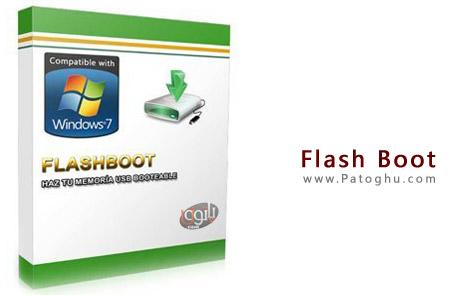 بوتیبل کردن فلش دیسک و ساخت فلش های بوت با FlashBoot 2.1m