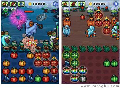 بازی نابود سازی زامبی ها برای آندروید Pumpkins vs Monster 1.9