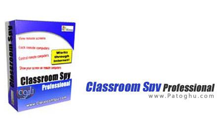 نظارت و کنترل رایانه از راه دور با نرم افزار Classroom Spy Professional Edition 3.8.3