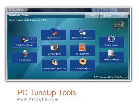 بهینه سازی و تعمی رمشکلات سیستم با نرم افزار PC TuneUp Tools 2011 v7.1.002