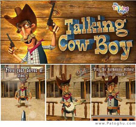 دانلود بازی جذاب Talking Cowboy آندروید