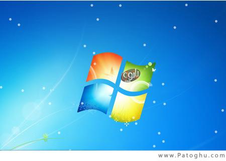 بارش برف بر روی دسکتاپ با نرم افزار DesktopSnowOK 1.41