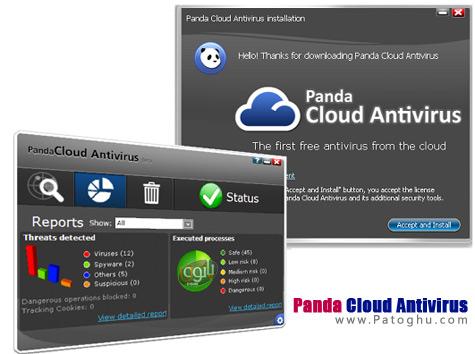 دانلود آنتی ویروس سبک و رایگان Panda Cloud Antivirus 1.5.1
