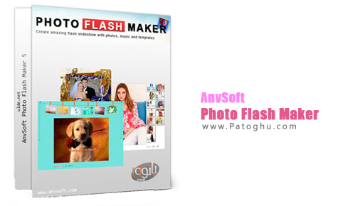 آلبوم عکس فلش AnvSoft Photo Flash Maker