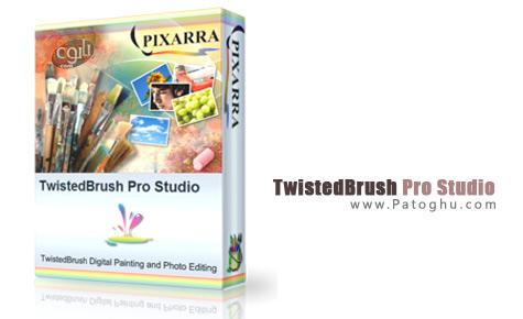 قدرتمندترین نرم افزار طراحی به نام  TwistedBrush Pro Studio 18.18
