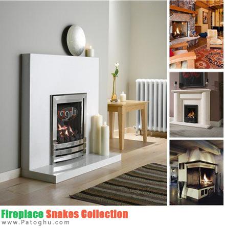 دانلود تصاویر مدل های جدید شومینه Fireplace Snaks Collection