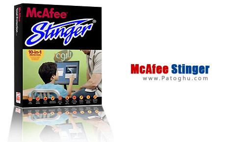 دانلود آنتی ویروس کم حجم شده شرکت نرم افزاری مکافی McAfee Stinger 10.2.0.454
