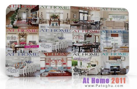 دانلود مجموعه مجله های طراحی دکوراسیون منزل سال ۲۰۱۱ At Home