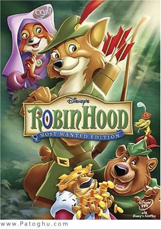 دانلود کارتون خاطره انگیز رابین هود با دوبله فارسی Robin Hood 1973