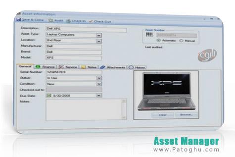 مدیریت کامل اموال با نرم افزار Asset Manager 2012 Enterprise Edition v1.0.1124.0