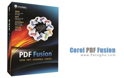 ساخت، ویرایش و تبدیل فایل های PDF با نرم افزار Corel PDF Fusion 1.0