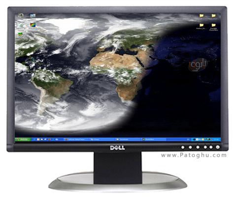 با نرم افزار DesktopEarth 2.1.1 کره زمین را در دسکتاپ خود داشته باشید!