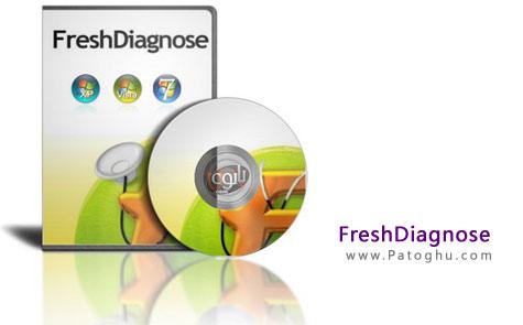 نرم افزار تست سخت افزارهای کامپیوتر Fresh Diagnose 8.59
