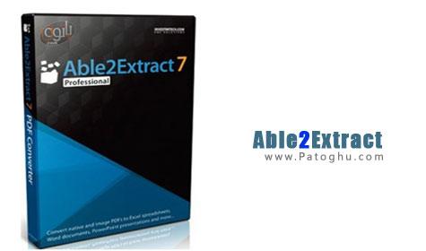 خواندن و تبدیل فایل های PDF به Word و Excel با نرم افزار Able2Extract Pro 7.0.6.20