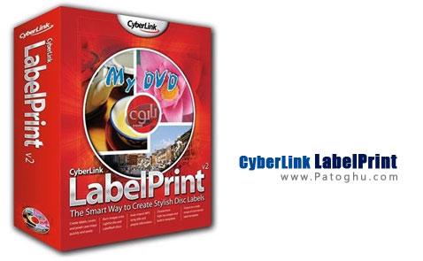 طراحی و چاپ لیبل سی دی و دی وی دی با نرم افزار CyberLink LabelPrint v2.5.3602