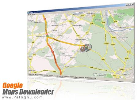 دانلود و ذخیره نقشه های گوگل با Google Maps Downloader 6.64