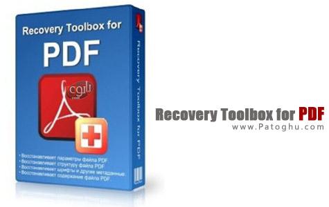 بازیابی فایل های PDF با Recovery Toolbox for PDF 1.0.4.0
