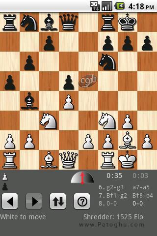 دانلود بازی شطرنج Shredder Chess v1.2 برای آندروید