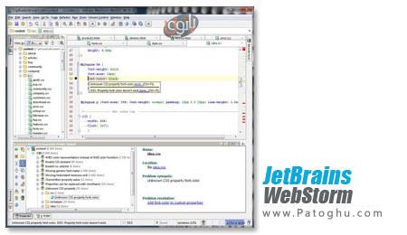 دانلود ویرایشگر قدرتمند وب JetBrains WebStorm v2.1.4