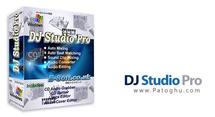 مدیریت و پخش فایل های چند رسانه ای با DJ Studio Pro 9.2.4.3.8