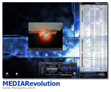 دانلود پلیر امروزی و جدید MediaRevolution 3.6.1