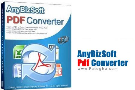 تبدیل فایل های PDF با AnyBizSoft PDF Converter 2.6.0.4 (قابل حمل)