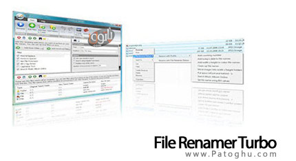 تغییر نام گروهی فایل ها با File Renamer Turbo v.2.76