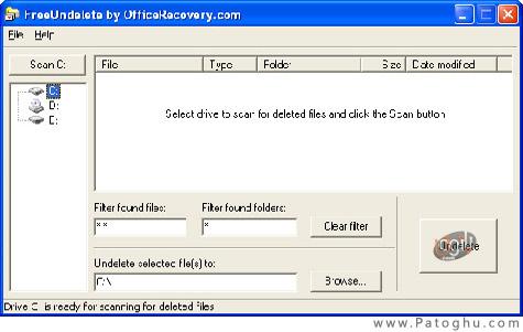 بازیابی فایل های حذف شده با FreeUndelete V2.0.35248.1 (قابل حمل)