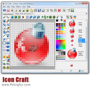 ویرایش و ساخت آیکون با Icon Craft v4.40
