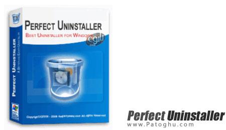 حذف برنامه های نصب شده برروی ویندوز Perfect Uninstaller v6.3.3.9
