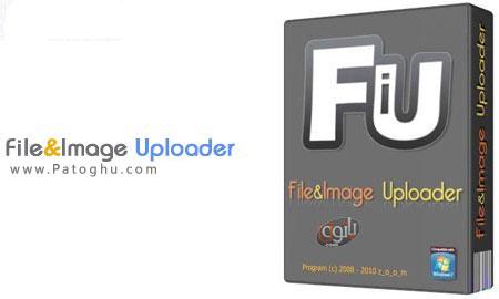 آپلود سریع فایل و عکس به سایت های اشتراک گذاری با File&Image Uploader 6.0.5