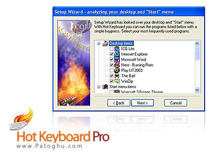 تعریف میانبرهای کاربردی با Hot Keyboard Pro 3.3.711