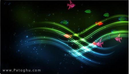 دانلود اسکین سیور رنگارنگ با نام Colors Of Life Screensaver