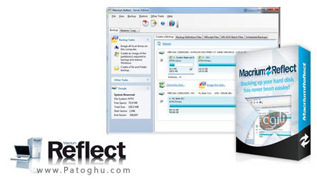 نرم افزار Macrium Reflect