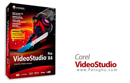 برنامه Corel VideoStudio Ultimate