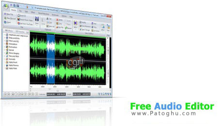 دانلود نرم افزار ویرایش صوت Swifturn Free Audio Editor 7.2.3 (قابل حمل)