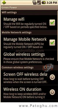 بهبود مصرف باطری در گوشی آندروید با Green Power Battery Saver v4.5