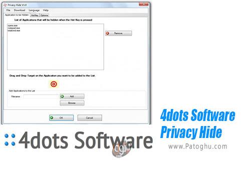 دانلود 4dots Software Privacy Hide برای ویندوز