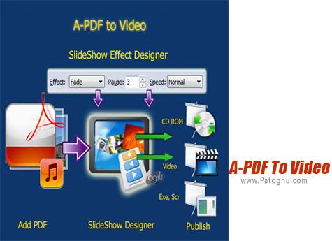 دانلود A-PDF To Video برای ویندوز