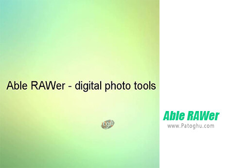 دانلود Able RAWer برای ویندوز
