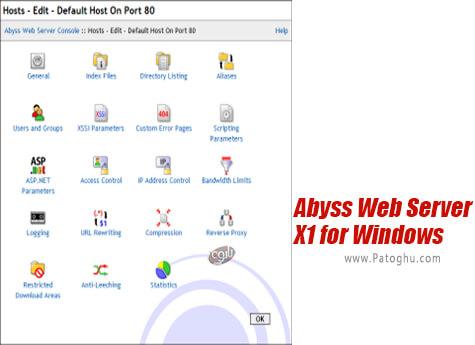 دانلود Abyss Web Server X1 for Windows برای ویندوز
