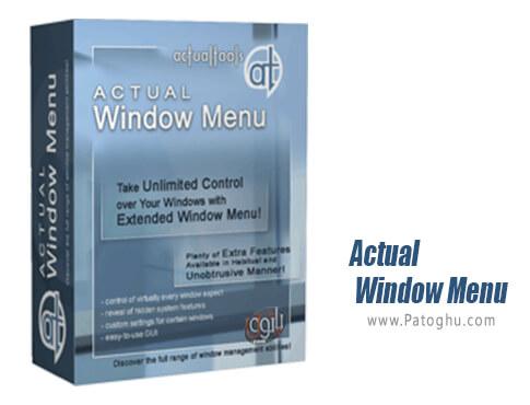دانلود Actual Window Menu برای ویندوز