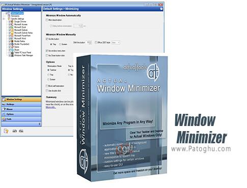 دانلود Actual Window Minimizer برای ویندوز