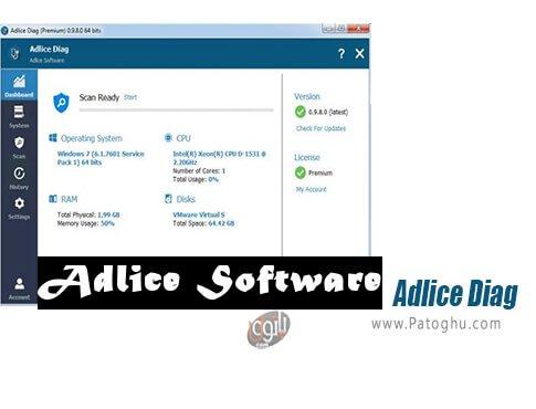 دانلود Adlice Diag برای ویندوز