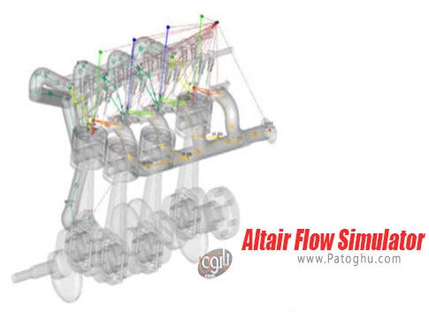دانلود Altair Flow Simulator برای ویندوز