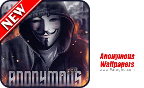 دانلود Anonymous Wallpapers برای اندروید